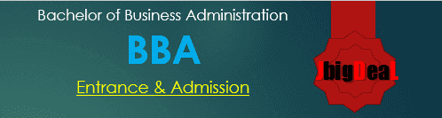 BBA Entrance Exam 2017 - List of entrance in India