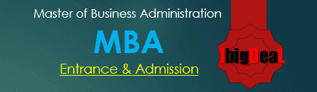 MBA Entrance Exam 2017 Admission Notification