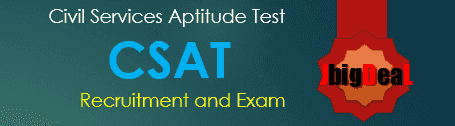 CSAT Exam 2017 UPSC Civil Service Examination