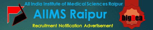 AIIMS Raipur Senior Resident Recruitment 2017 Application Form