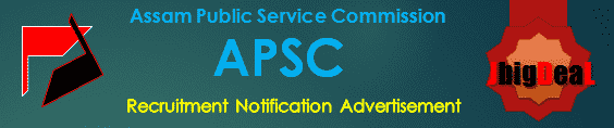 APSC Recruitment 2017 Application Form