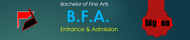 BFA Entrance Exam and Admission 2017