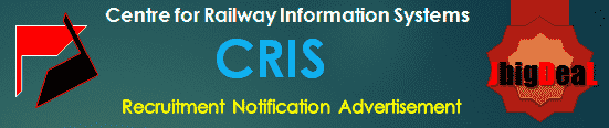 CRIS Recruitment 2017 Online Application Form