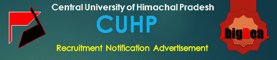 CUHP Recruitment 2017 Online Application Form
