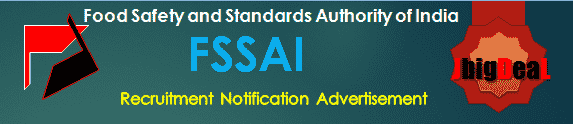 FSSAI Recruitment 2017 Application Form