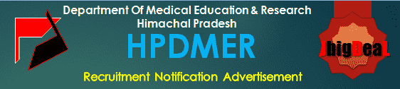 HPDMER Recruitment 2017 Application Form