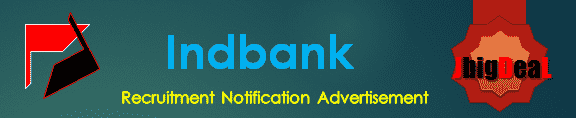 Indbank Recruitment 2016 Application Form