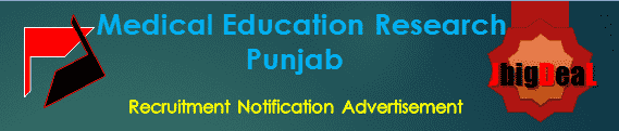 Medical Education Research Punjab Recruitment 2017 Application Form