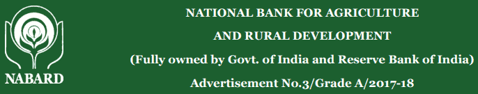 NABARD Recruitment 2017 Online Application Form
