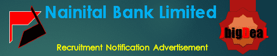 Nainital Bank Limited Recruitment 2017 Online Application Form