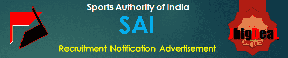 SAI Recruitment 2016 Online Application Form