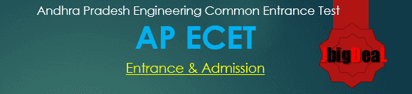 APECET 2018 - Andhra Pradesh Engineering Common Entrance Test 2018