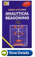 Analytical Reasoning by M.K. Pandey Books