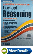 Analytical reasoning by R.S Aggarwal Books