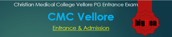 CMC Vellore Medical PG Entrance Exam 2019