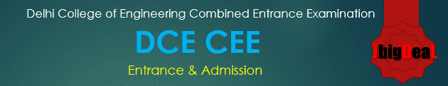 DCE CEE 2021 Online Application