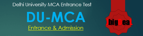 Delhi University MCA Admission 2017