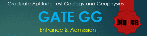 GATE GG Exam 2019 - Graduate Aptitude Test Geology and Geophysics