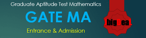 GATE MA Exam 2017 Mathematics