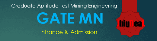 GATE MN Exam 2019 - Mining Engineering
