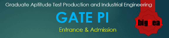 GATE PI Exam 2017 - Production and Industrial Engineering