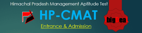 HP CMAT 2020 - Himachal Pradesh University Management Aptitude Test (HPU MAT)