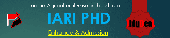 IARI PHD 2020 Exam