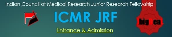 ICMR JRF 2018 Indian Council of Medical Research Junior Research Fellowship examination