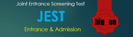 JEST 2020 - Joint Entrance Screening Test 2020