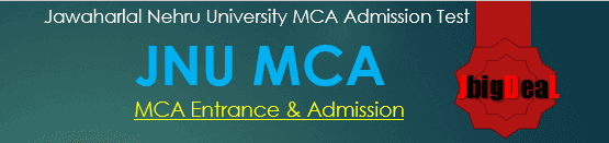 JNU MCA Entrance Exam 2019 - Admission 2019