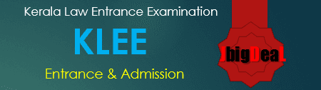 KLEE 2017 - Kerala Law Entrance Examination 2017