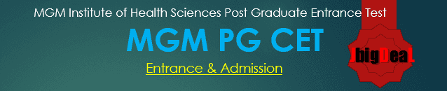MGM PG CET 2019 - Admission and Entrance
