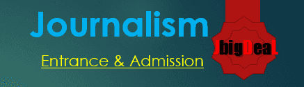 Media Journalism Entrance 2020- Admission