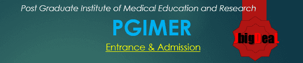 PGIMER 2020-Post Graduate Institute of Medical Education and Research Chandigarh Entrance 2020