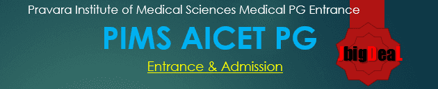 PIMS AICET PG 2020 - Admission and Entrance