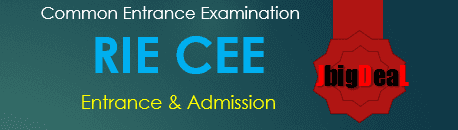 RIE CEE 2020 - Regional Institute of Education Common Entrance Examination