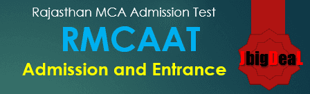 RMCAAT 2019 Rajasthan Master in Computer Applications Admission Test