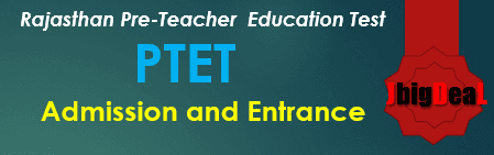 Rajasthan PTET 2018 Pre-Teacher Education Test (PTET)