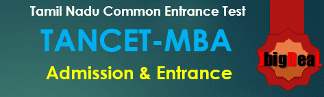 TANCET MBA 2018 - Tamil Nadu MBA Common Entrance Test