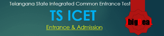 TS ICET 2021 - Telangana State Integrated Common Entrance Test