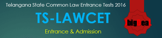 TS LAWCET 2021 - Telangana State Common Law Entrance Tests 2021