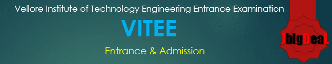 VITEEE 2017 - VIT Engineering Entrance Examination 2017