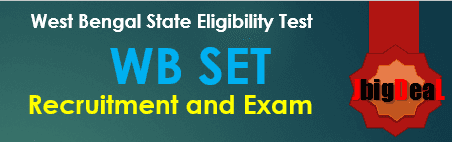 WB SET 2018 West Bengal State Eligibility Test