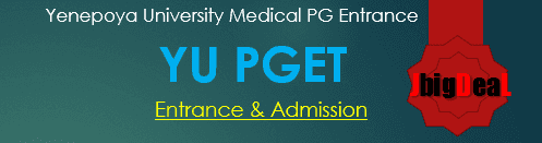 YU PGET 2019 - Admission and Entrance