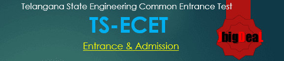 TS ECET 2018 Telangana State Engineering Common Entrance Test 2018