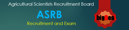Agricultural Scientists Recruitment Board Exam 2018