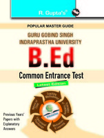 GGSIPU B.Ed. Entrance 2017 Study Materials