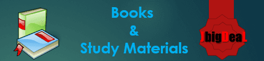 Books and Study Materials for Entrance Exam
