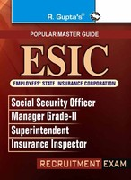 ESIC Exam Books