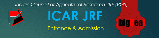ICAR-JRF (PGS) Admission 2019